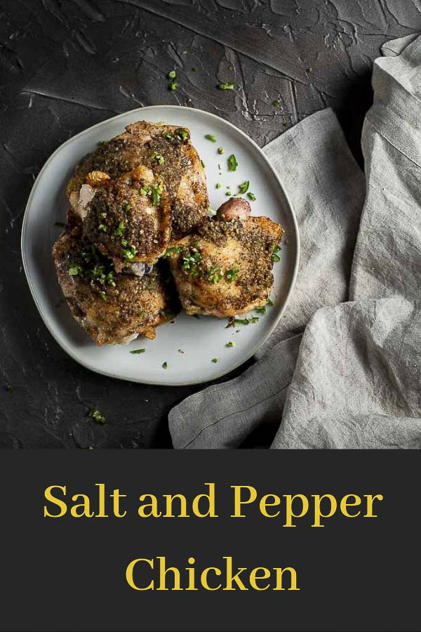 Chinese Salt and Pepper Chicken Recipe