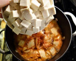 kimchi tofu stew