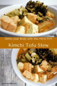 Deliciously Healthy Kimchi Tofu Stew