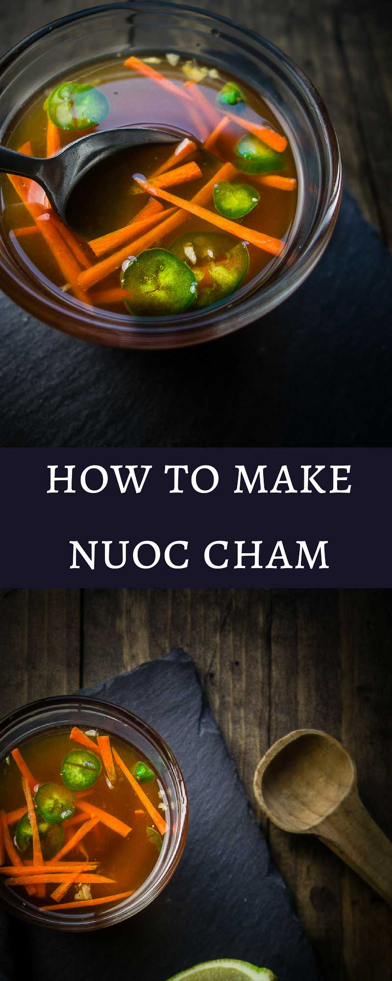 Nuoc Cham is a dipping sauce commonly served with Vietnamese dishes. Made with fish sauce, garlic, chilies, sugar and lime juice, it has umami packed flavor.basic vietnamese dipping sauce | dipping fish sauce | vietnamese fish sauce | spicy fish sauce | classic vietnamese sauce | everyday vietnamese dipping sauce | spicy vietnamese sauce | how to make nuoc cham | nuoc cham sauce recipe | vietnamese recipesnuoc cham recipe, vietnamese dipping sauce easy, vietnamese dipping sauce recip...