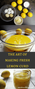 The Best Fresh Made Lemon Curd