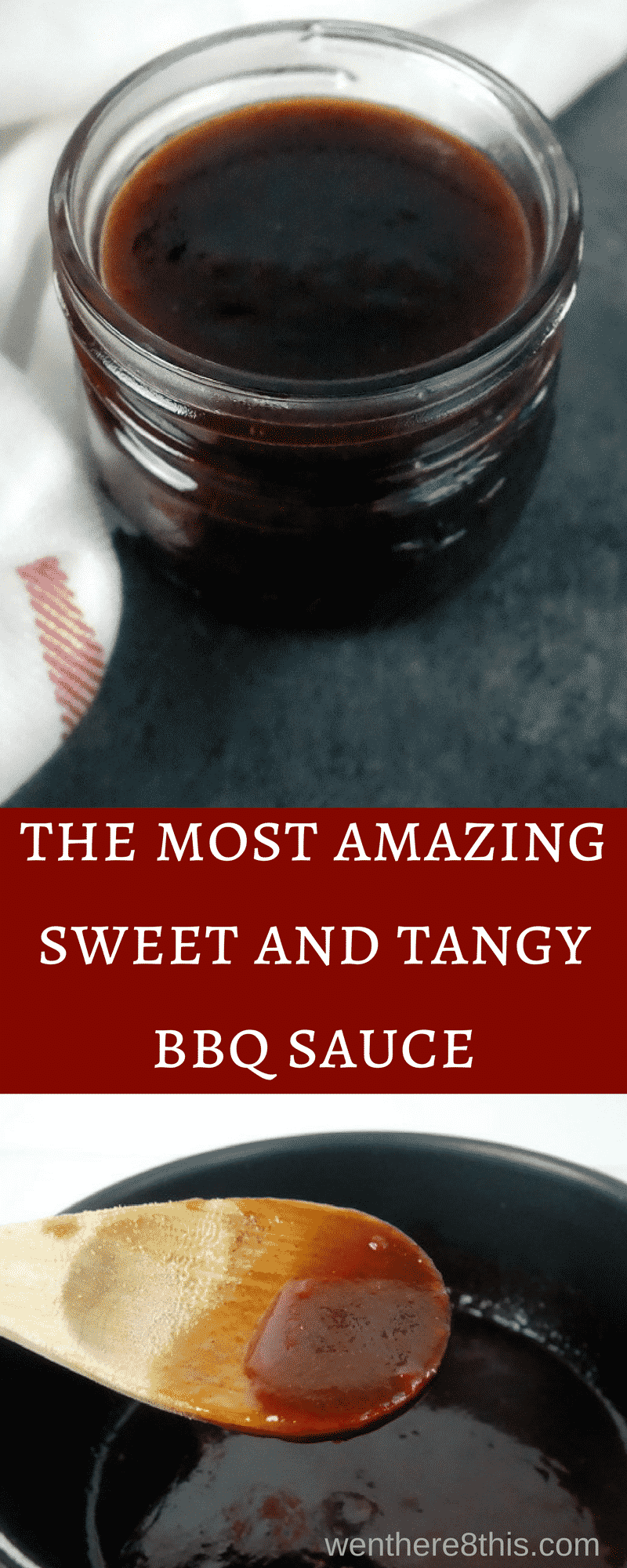 This smoky sweet and tangy barbecue sauce recipe is super simple to make, with only 7 ingredients and a cook time of 5 minutes. You\'ll never use another sauce!homemade BBQ sauce | best BBQ sauce | barbecue sauce recipe | sweet BB sauce | tangy BBQ sauce | easy barbecue sauce | how to make barbecue sauce | brown sugar BBQ sauce | southern BBQ sauce | BBQ sauce for ribs | BBQ sauce for chicken