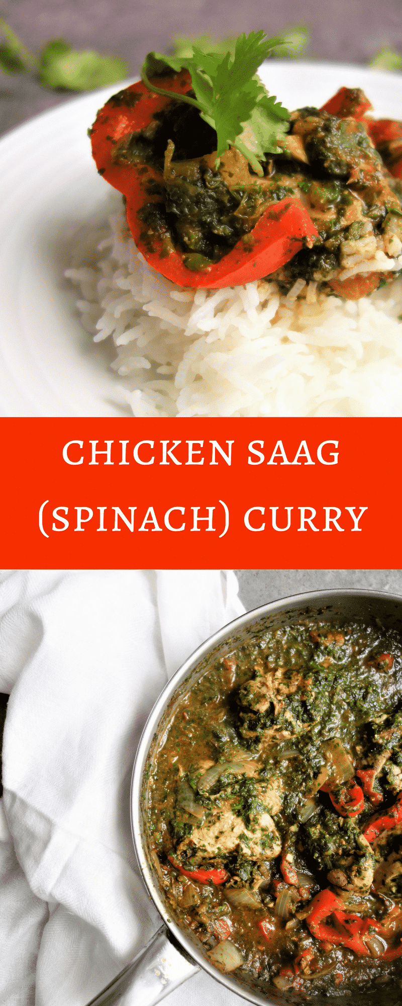 Easy to Make Chicken Saag Curry