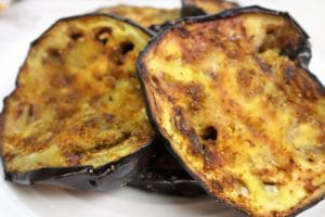 Grilled Curried Eggplant: Easy Vegetable Dishes