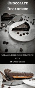 Deliciously Decadent Chocolate Caramel Pie with an Oreo Crust