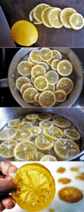 Learn how to make Candied Lemon Slices - it's so easy!