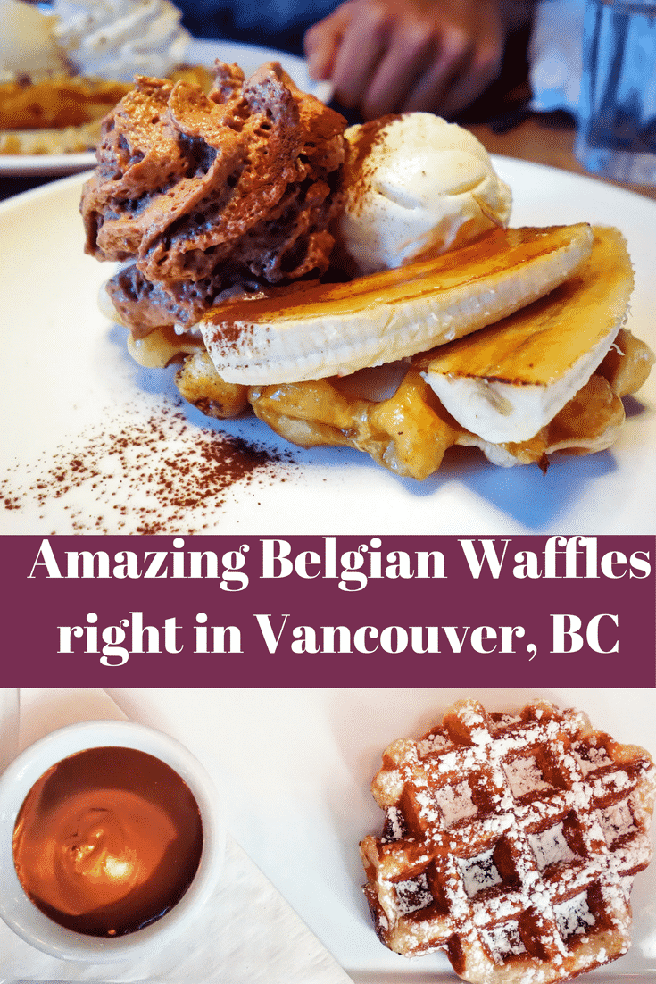 Finding the BEST Waffles in Vancouver, BC!
