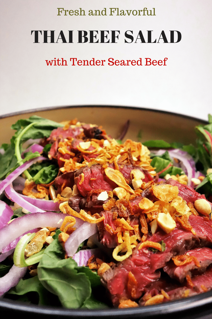 The Best Ever Healthy Grilled Thai Beef Salad