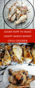 The Best Healthy Baked Crispy Honey Chili Chicken