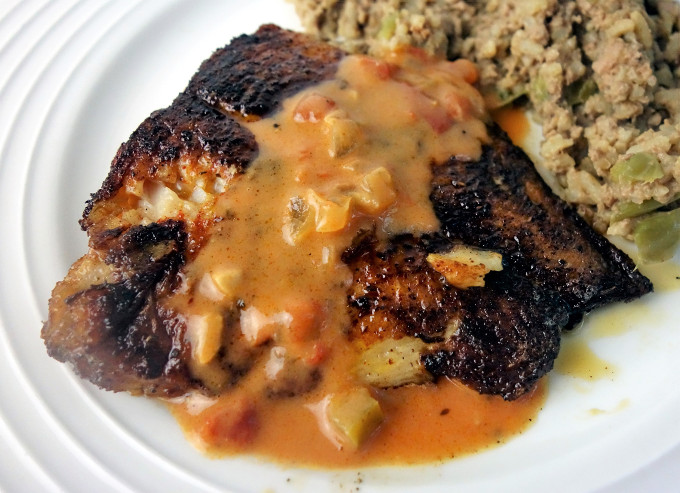 Easy to make cajun style blackened catfish went here 8 this for How to make blackened fish