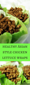 The Most Amazing Healthy Asian Style Chicken Lettuce Wraps