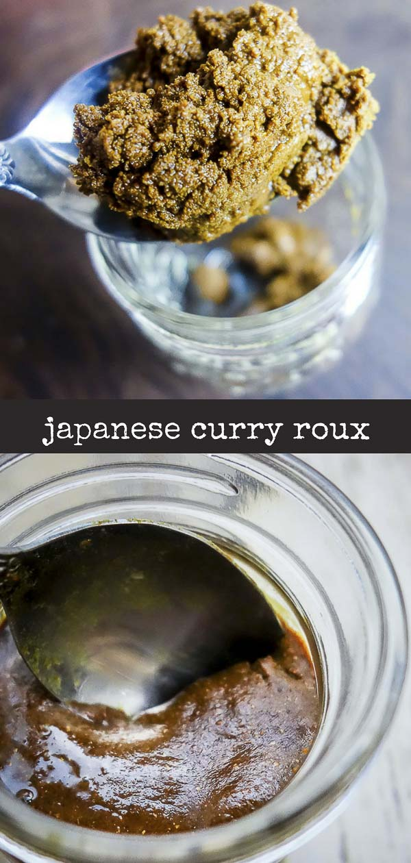 Learn how to make your own Japanese curry roux so you can make all your favorite Japanese curry dishes with the best umami flavor packed curry roux! #japanesecurry #homemadecurryjapanese curry roux recipe, how to make curry roux, Japanese curry recipe, curry roux recipe, Japanese recipes, homemade curry paste, japanese curry paste, garam masala, curry powder, easy roux recipe, best japanese curry roux