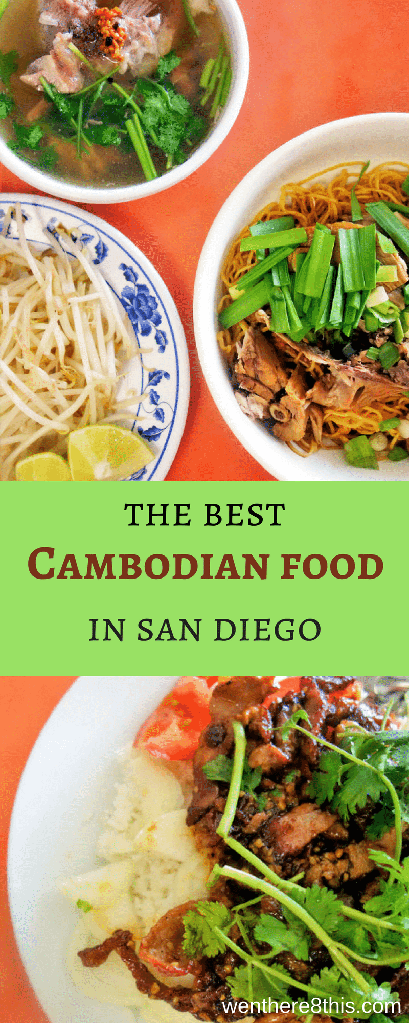 Learn here where you can find the best Cambodian food in San Diego. There may not be many, but they are tasty!cambodian food, best restaurants san diego, cambodian restaurants, san diego eats, asian restaurants san diego, san diego Cambodian food, southeast Asian cuisine, beef lok lak, bone broth, bone soup, duck noodle soup, roasted duck, san diego eats, eater san diego, #cambodianfood #goodeatssandiego #sandiegorestaurants