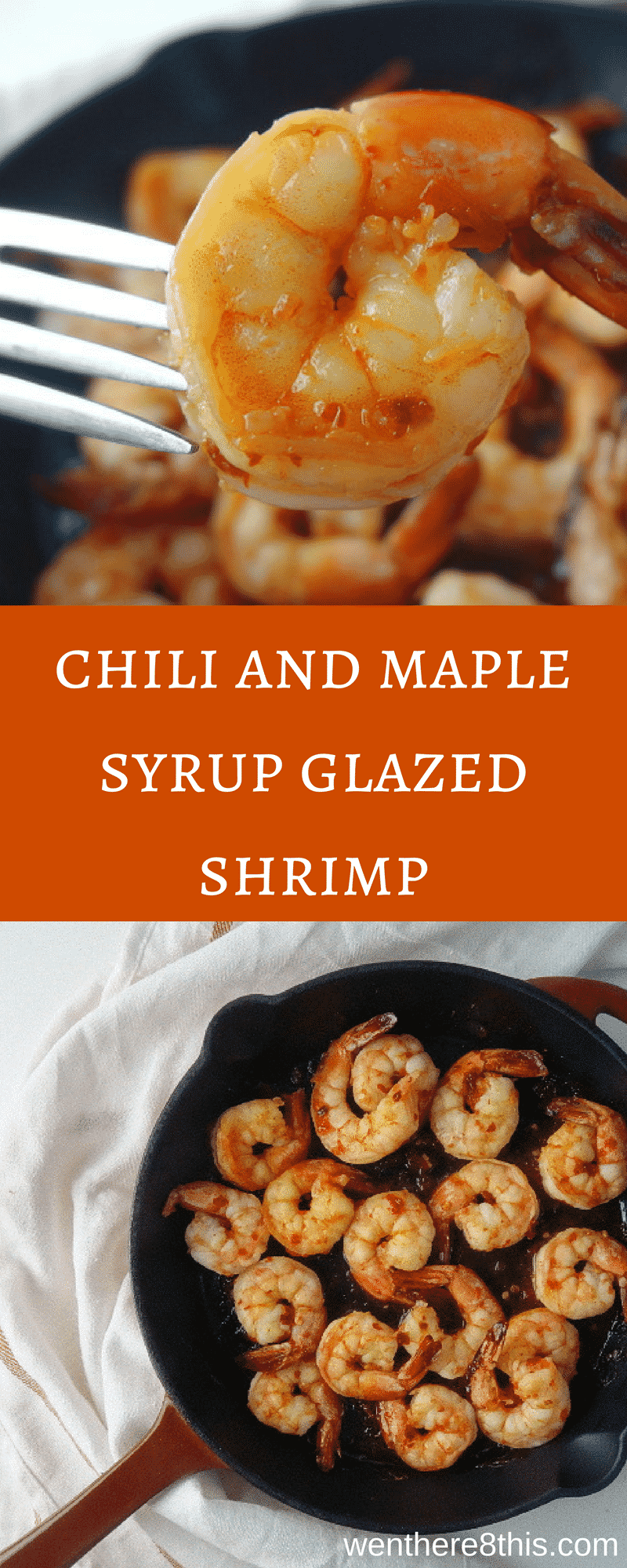 Try this quick and easy 4 ingredient chili and maple syrup glazed shrimp for a perfectly healthy weeknight meal! Delicious and healthy!maple glazed shrimp | sweet glazed shrimp recipe | chili maple shrimp recipe easy | easy shrimp recipe | spicy sweet glazed shrimp | spicy shrimp recipe | easy shrimp recipe | sweet glazed shrimp | healthy shrimp recipes | easy healthy shrimp