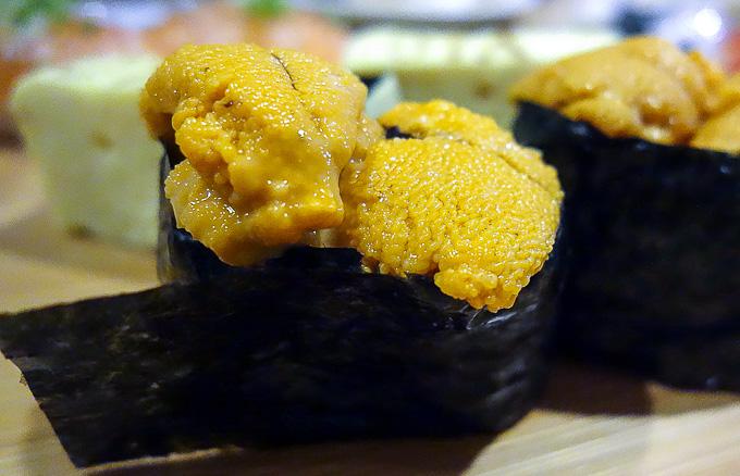 best sushi in san diego, uni sushi