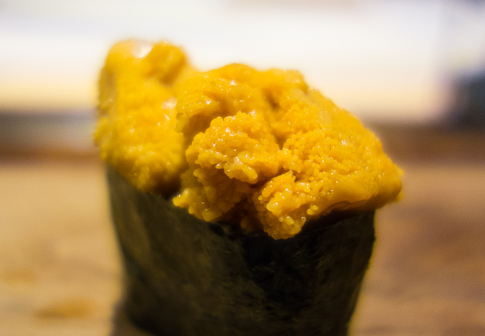 best sushi in san diego, photo of uni sushi