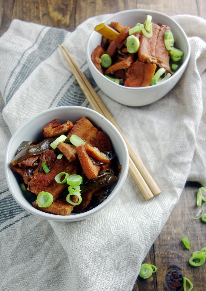 Japanese Braised Pork Belly (Kakuni)