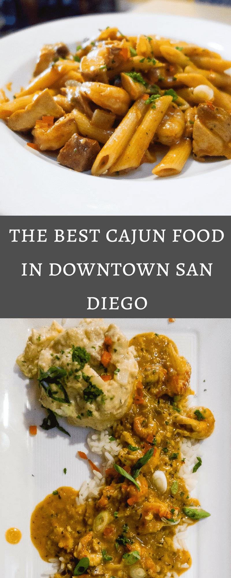 Where to find the best Cajun food in downtown San Diego. The most amazing gumbo, jambalaya, etouffee, and alligator sausage in San Diego!san diego restaurants | best restaurants san Diego | cajun food san diego | cajun restaurants san diego | new Orleans food | best gumbo in san diego | bud and rob's louisiana bistro | new orleans eats in san diego | best creole food in san diego