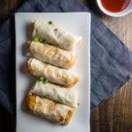egg rolls with hot sauce, cajun crawfish egg rolls