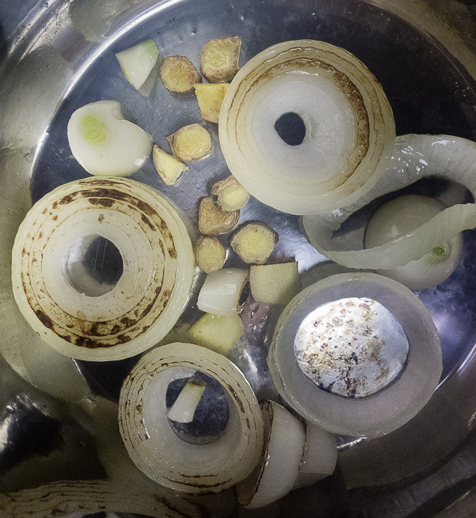 charred onion in instant pot
