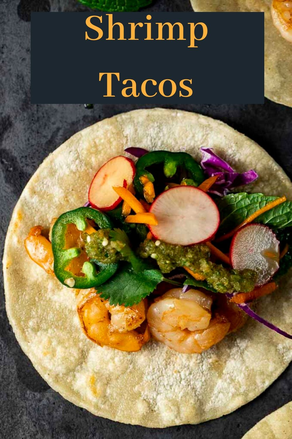 Easy Shrimp Tacos with Spicy Asian Salsa