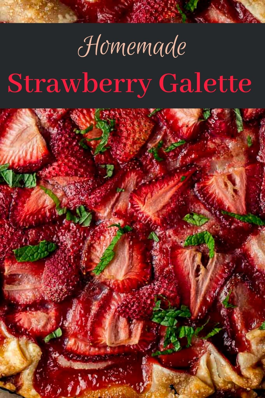 Rustic Strawberry Galette Recipe