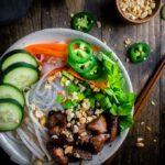 Vietnamese Pork Noodle Bowl (Bún Thịt Nướng)