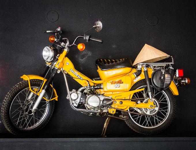 photo of yellow motorcycle