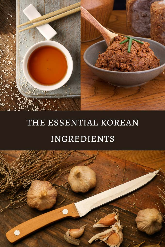The Essential Korean Ingredients for Cooking
