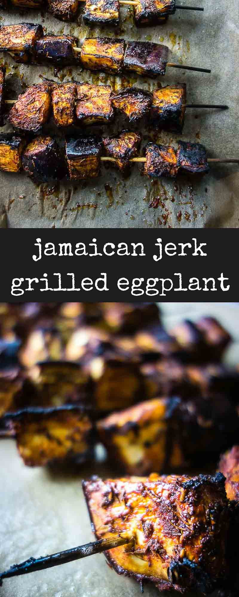 Jamaican Jerk Grilled Eggplant Recipe