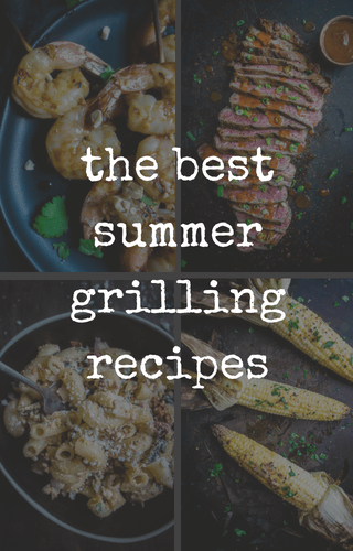 a collection of grilling recipes and bbq recipes