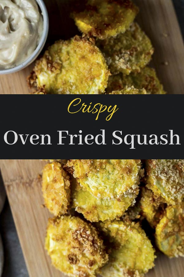 Crispy Parmesan Oven Fried Squash (Video)