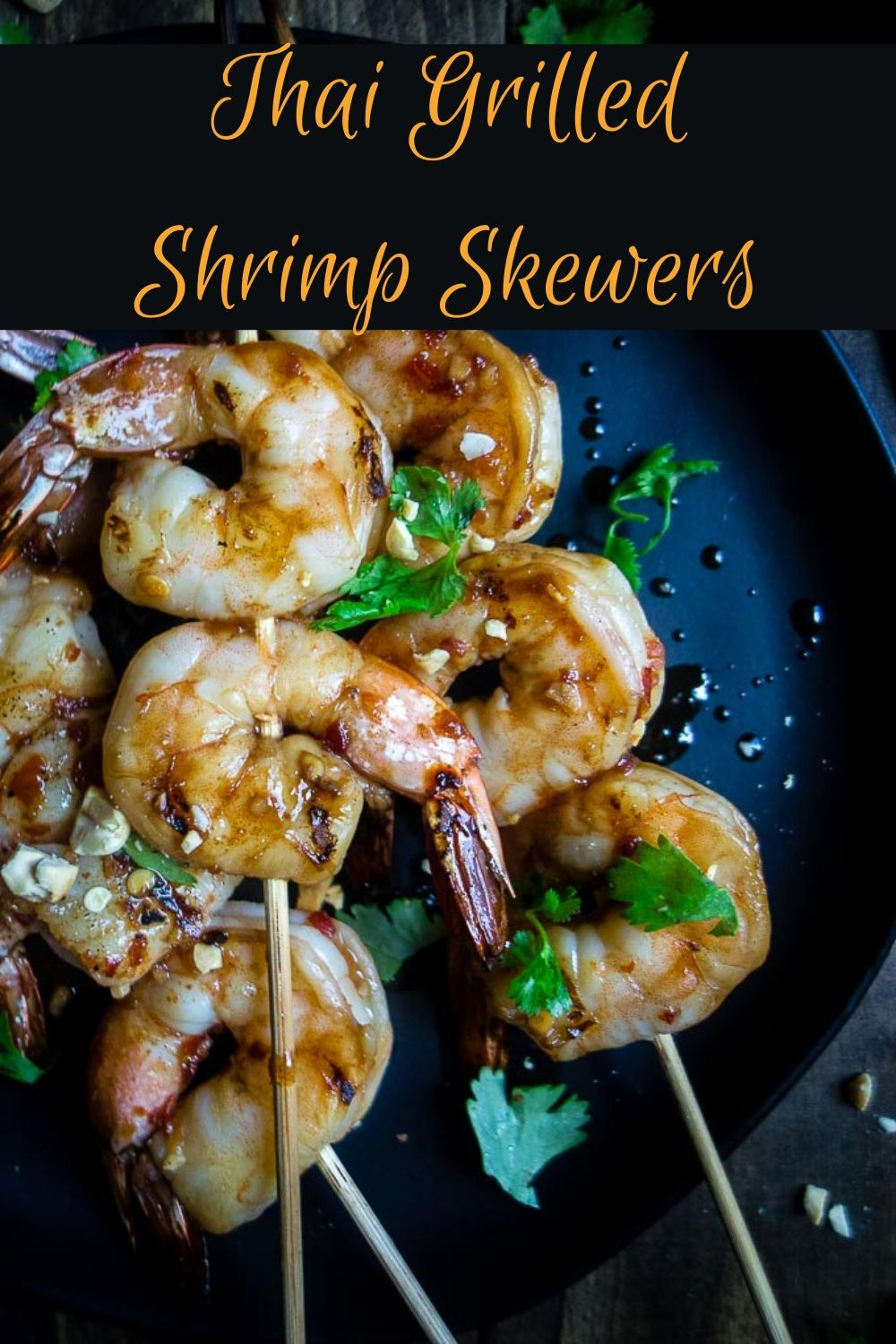 Thai Grilled Shrimp Kabobs with Coconut Sticky Rice