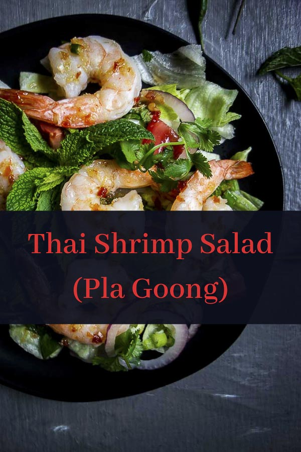 Spicy Thai Shrimp Salad (Pla Goong)