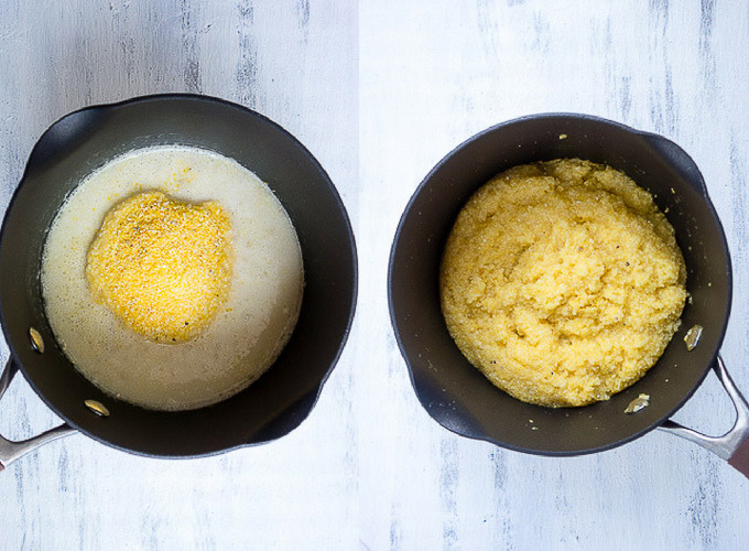 how to make grits