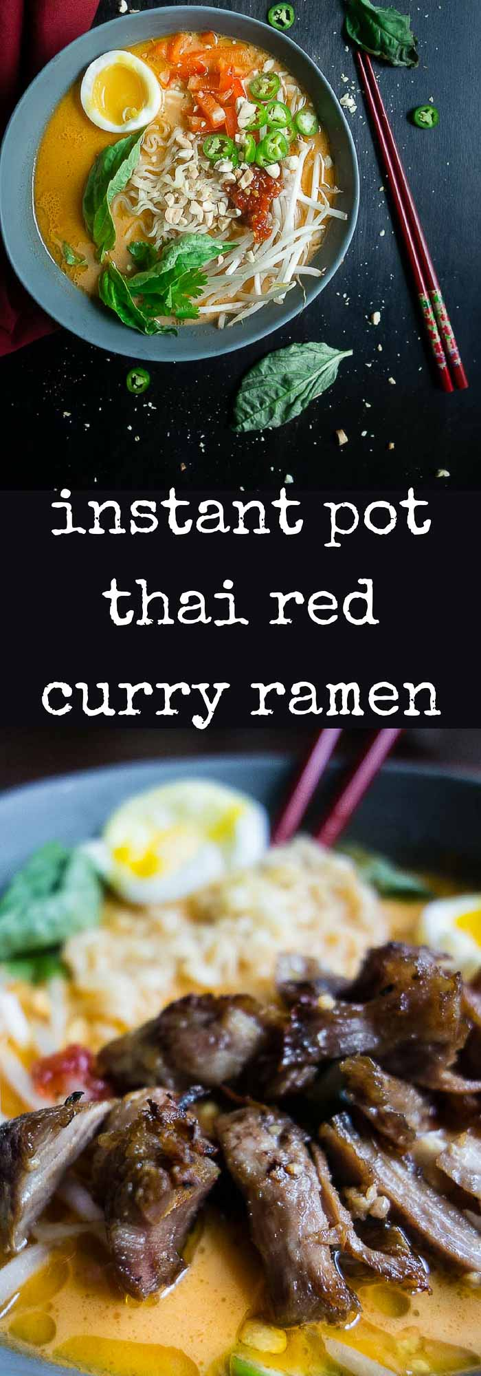 Instant Pot Coconut Curry Ramen