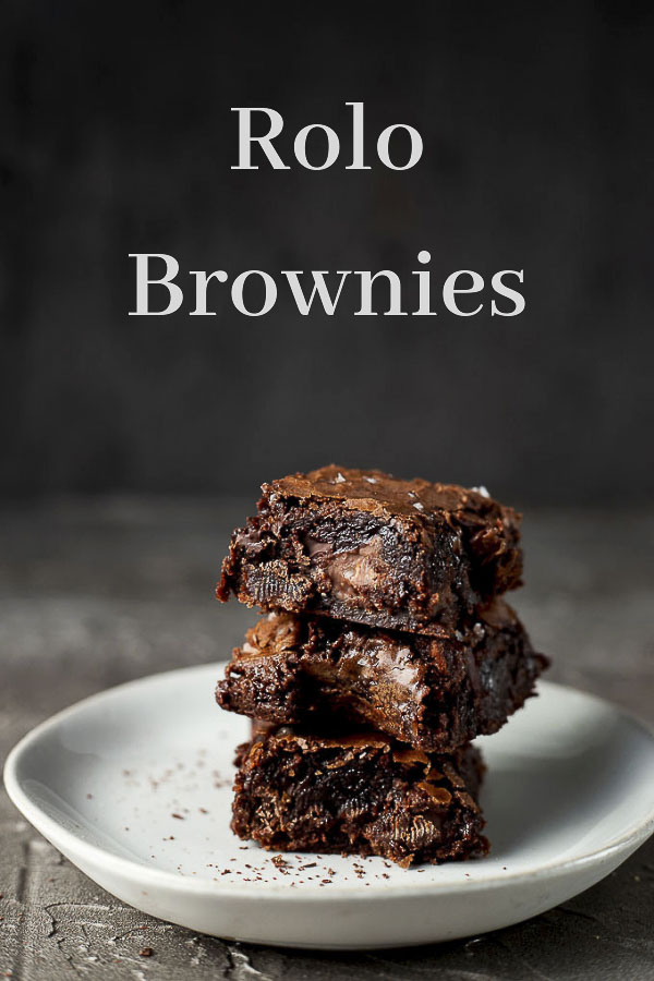 Gooey Rolo Brownies Recipe