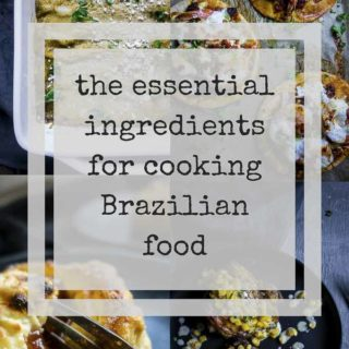 ingedients for cooking brazilian food