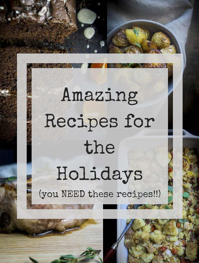collection of holiday recipes