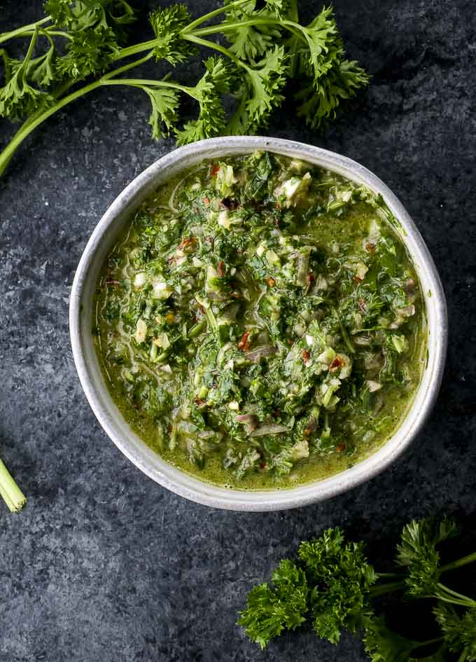 Argentinian Chimichurri Sauce Recipe Went Here 8 This