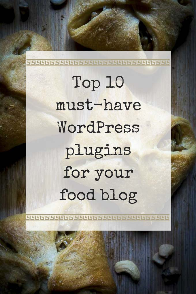 must have wordpress plugins over top of food photo