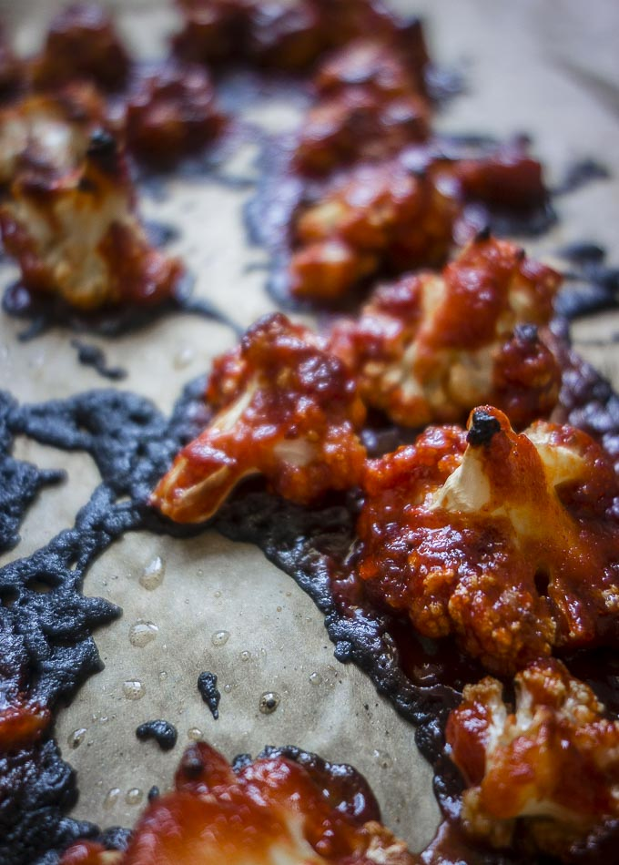 gochujang cauliflower wings