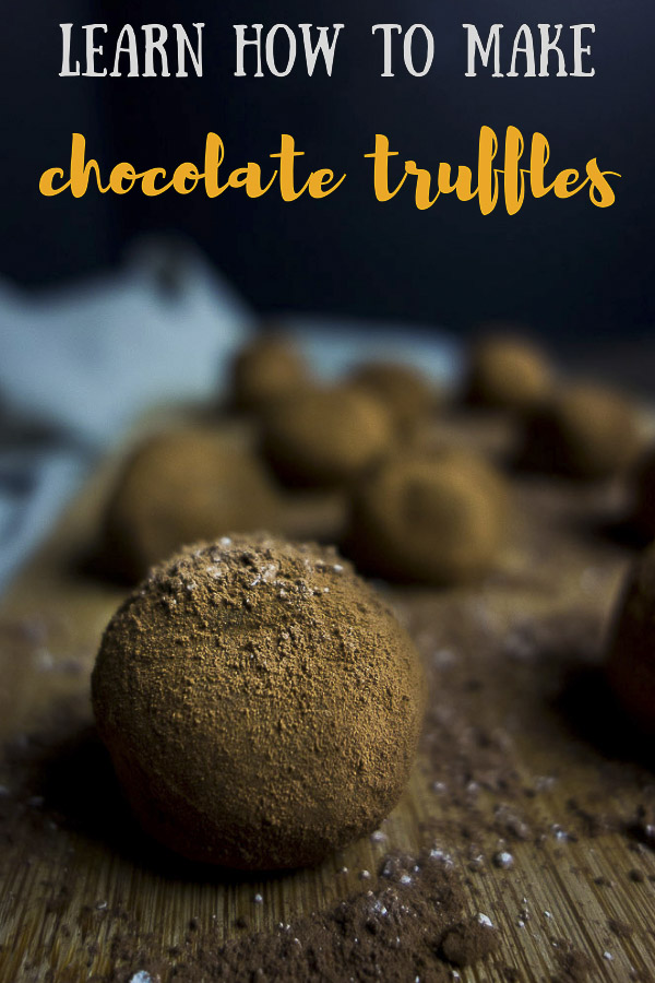 Easy Dark Chocolate Truffles Recipe