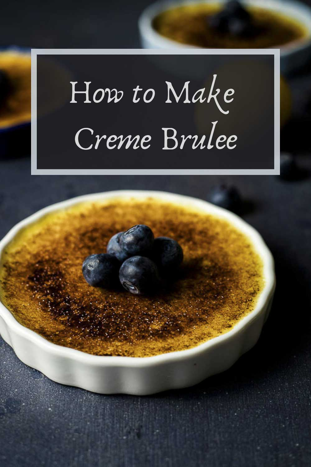 Step-by-step photos and instructions on how to make the perfect rich and creamy Creme Brulee with a thick caramelized sugar coating. Flavored with fresh Meyer lemon juice, this easy creme brulee recipe has the perfect lemony custard and crispy sugar topping. Ready in under an hour, this easy creme brulee is sure to impress! #wenthere8this #cremebrulee #lemoncustard #lemonbrulee