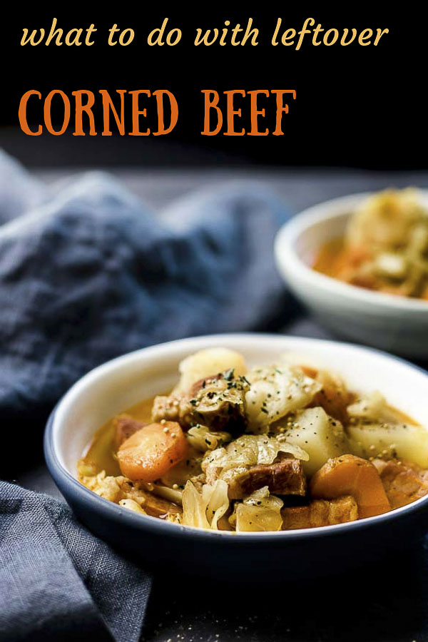 Deliciously buttery corned beef with cabbage and potato in a flavorful broth, this Instant Pot Corned Beef and Cabbage Soup is ready in under 30 minutes. If you\'re wondering what to do with leftover corned beef, this corned beef and cabbage soup might be the BEST option!#wenthere8this #cornedbeefandcabbage #cornedbeefbrisket