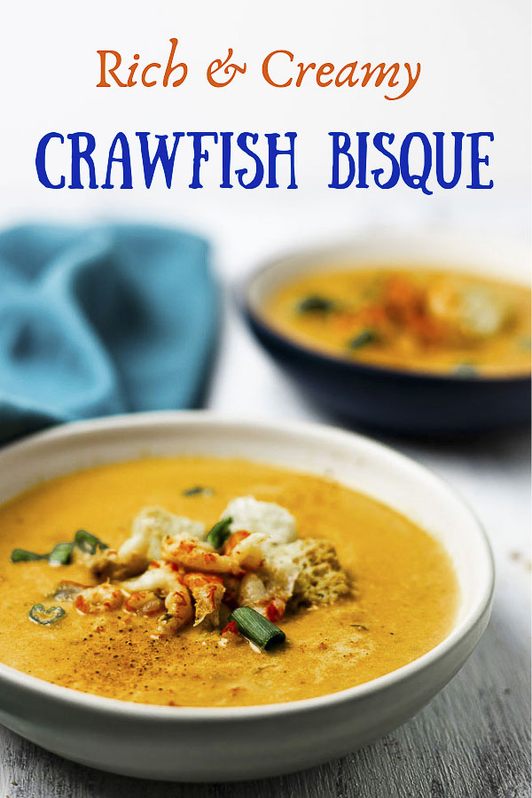 Rich & Creamy Crawfish Bisque Recipe