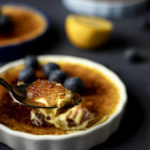 spoonful of creme brulee