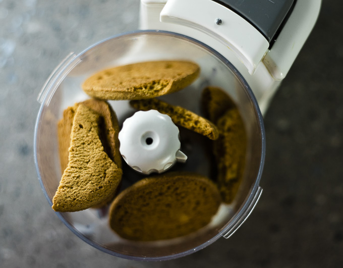 cookies in a food processor