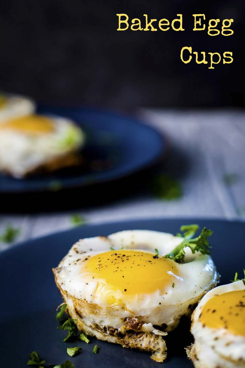 Perfect for a lazy Sunday morning, or a quick and easy weekday breakfast, these Baked Egg Cups only take 30 minutes to make and taste absolutely incredible. Crispy hash browns mixed with bacon and cheese and topped with a perfectly cooked egg, this is the breakfast of champions! #wenthere8this #eggcups #eggmuffins