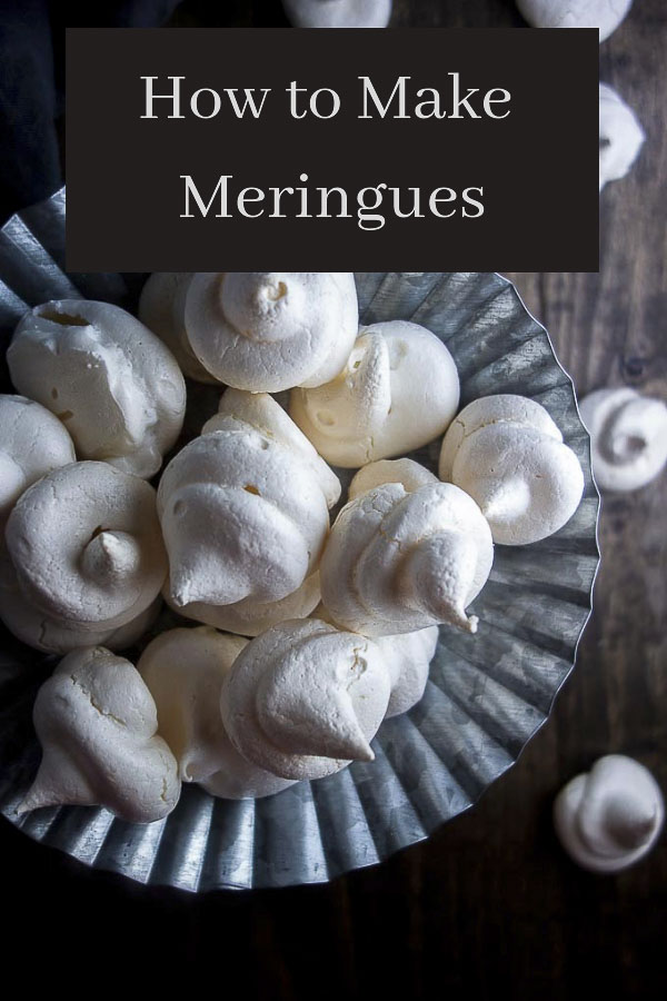 How to Make Almond Meringue Cookies